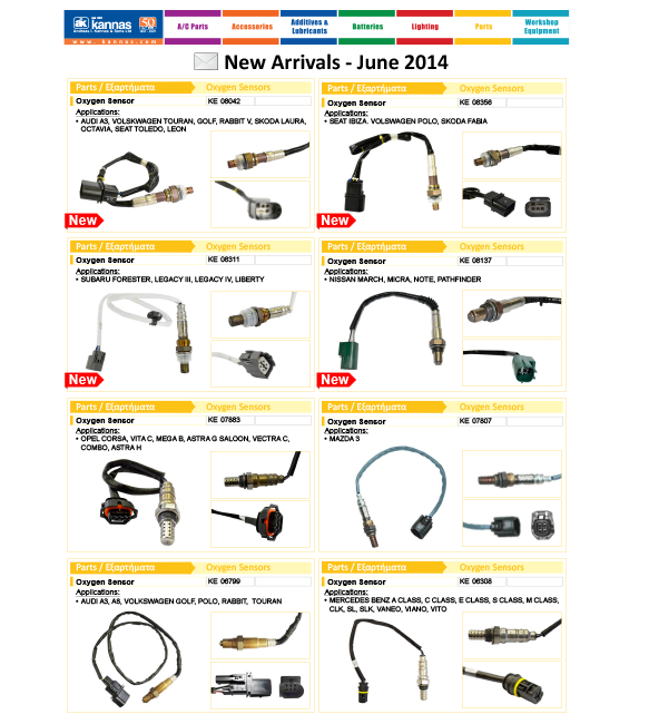 New Arrivals June 2014