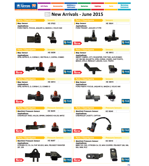 New Arrivals June 2015