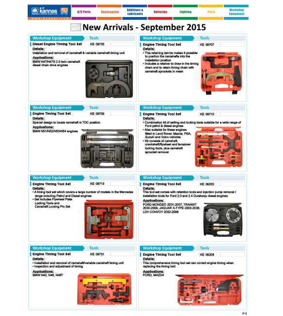 New Arrivals September 2015