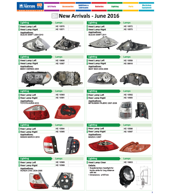 New Arrivals June 2016
