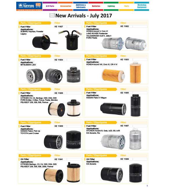 New Arrivals July 2017