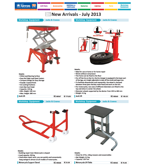 New Arrivals July 2013